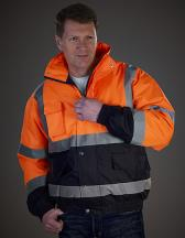 High Visibility Two-Tone Bomber Jacket
